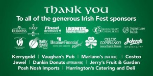 Irish Fest Thank You