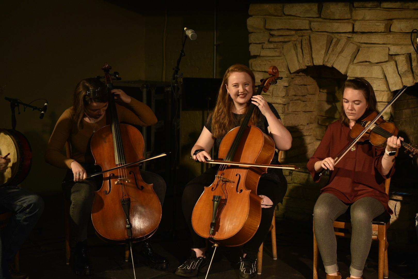 Academy of Irish Music performing